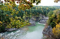 Letchworth State Park Views Western New York