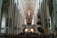 Jacob Church, Evangelical-Lutheran parish church Saint Jakob, Rothenburg ob der Tauber, Bavaria, Germany, Europe