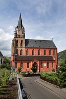 Liebfrauenkirche Church in Oberwesel, Rhineland_Palatinate, Germany, Europe