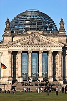 Reichstag parliament Berlin, Germany, Europe