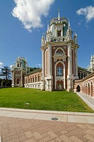 The Grand Palace, by Matvey Kazakov, 1786-1796, Tsaritsyno, Moscow, Russia