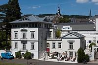 The Hotel Villa Moselschloesschen, Traben quarter, Traben-Trarbach, Mosel, district Bernkastel-Wittlich, Rhineland-Palatinate, Germany, Europe