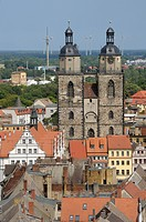 Parish church, Lutherstadt Wittenberg, Saxony_Anhalt, Germany, Europe