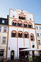 Drei Koenigenhaus a 13th Century residential house in Trier, Germany, Europe