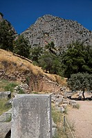 Ancient Delphi Mount Parnassus Sterea Ellada Greece