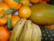 Tropicals fruits, São Paulo, Brazil