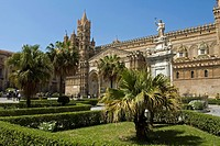 Palermo Cathedral, Piazza Cattedrale, Palermo, Sicily, Italy, Europe