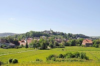 City ciew, Bad Wuennenberg, Sauerland, North Rhine-Westphalia, Germany, Europe