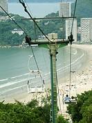 Cable car, São Vicente, São Paulo, Brazil