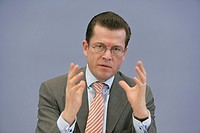 Dr. Karl-Theodor zu Guttenberg, CSU, Christian Social Union of Bavaria, Federal Minister of Economics and Technology