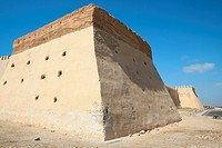 Morocco. Atlantic Coast. Agadir: Ancient Kasbah Walls