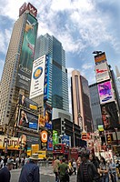 Time Square in Manhattan, New York, USA