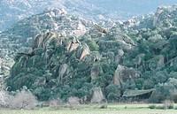Latmos mountain range near Bafalake, Turkey, Aegaeis, Latmos, Bafasee