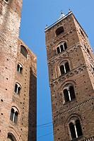 Medieval towers, Albenga, Liguria, Italy
