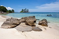 Anse L'Islette, Mahe Island, Seychelles, Indian Ocean, Africa