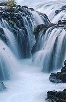 waterfall Bruarfoss, Iceland