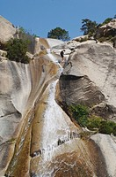 canyoning in Corsica, Canyon de la Purcaraccia, Frankrteich, Corsica, Bavella