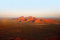 Aireal of Katatjuta, Mt. Olgas, Australia, Northern Territory, Uluru NP