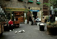 Neals Yard, Covent Garden, London, England, United Kingdom, 1970s