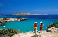 Cala Comte, Ibiza, Balearic Islands, Spain