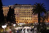 Grande Bretagne Hotel, Syntagma Square, Athens, Greece