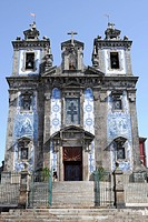 Igreja de Santo IIdefonso church, Porto, North Portugal, Europe