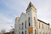A church building for sale, Washington, DC, USA