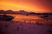 polar night at Tromso, Norway, Troms, Troms°