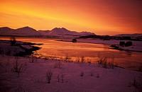 polar night at Tromso, Norway, Troms, Troms°