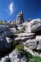 Torcal de Antequera Nature Park, Malaga province, Andalusia, Spain, Europe