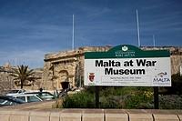 Malta War Museum on Triq IF Gublew, Vittoriosa Brigu, Malta, Europe