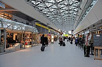 Main terminal of the Berlin-Tegel Airport, Berlin, Germany