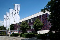 Civic hall, Goettingen, Lower Saxony, Germany, Europe