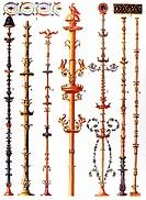 Pompeian murals, antiquity, Roman-Hellenistic ornament, Zahn, ornaments of all classic art eras