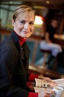 Portrait of a mature businesswoman, smiling
