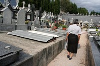 Cemetery, O Barco de Valdeorras, Orense province, Galicia, Spain