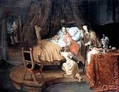 Isaac Blessing Jacob by Gerbrand van den Eeckhout, 1621_1674