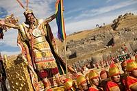 Archaeological site Sacsahuaman, Inti Raymi