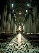 Aisle of Duomo