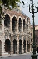 Amphitheater Roman Arena, Piazza Bra, Verona, Veneto, Italy