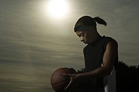 Female basketball player