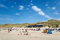Wonnemeyer beach bar, Wenningstedt, Sylt, North Frisia, Schleswig-Holstein, Germany, Europe