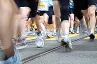 Legs and feet of runners, Swiss Women's Run, 1 June 2008, Berne, Switzerland, Europe