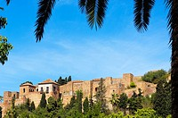 Moorish 'Alcazaba', Malaga. Costa del Sol, Andalusia, Spain