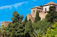 Moorish ´Alcazaba´, Malaga. Costa del Sol, Andalusia, Spain