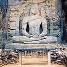 Gal Vihara, Polonnaruwa Polonnaruva, UNESCO World Heritage Site, Sri Lanka, Asia.