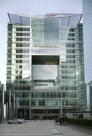 Office building of the Bank of America in Canary Wharf in London, England, Great Britain, Europe