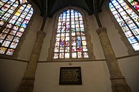 Church windows, St Johannes church, Gouda, South Holland, Netherlands / Sint Janskerk, Goutse Glasen