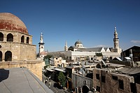 Townscape of Damascus Old Town