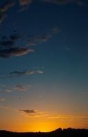 Olgas, Kata Tjuta at sunset, Australia, Northern Territory, Uluru_Kata Tjuta_Nationalpark